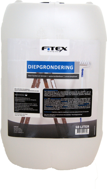 Fitex Diepgrondering / Voorstrijk 10 liter