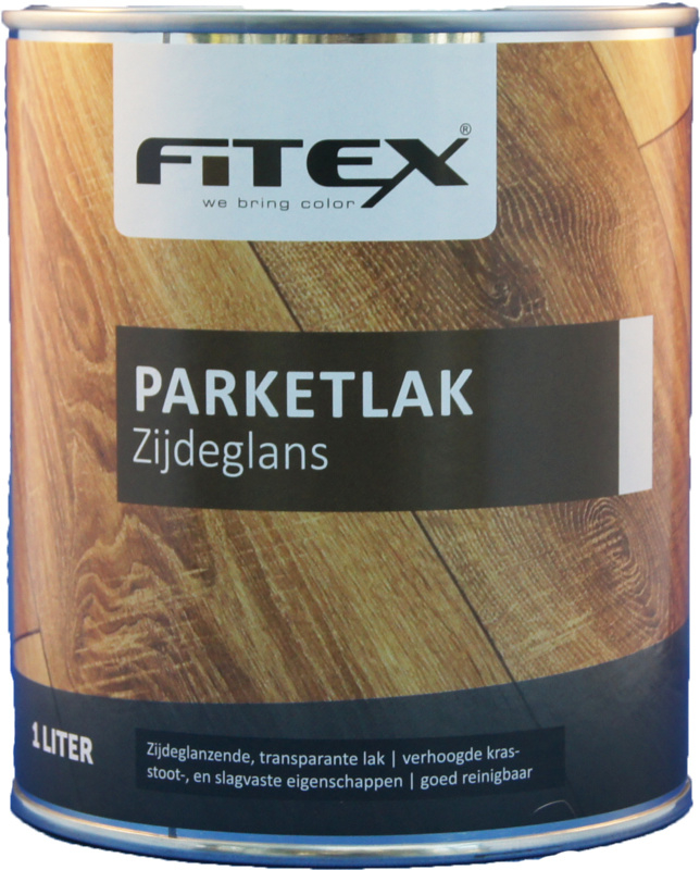Fitex Parketlak Zijdeglans 1 liter