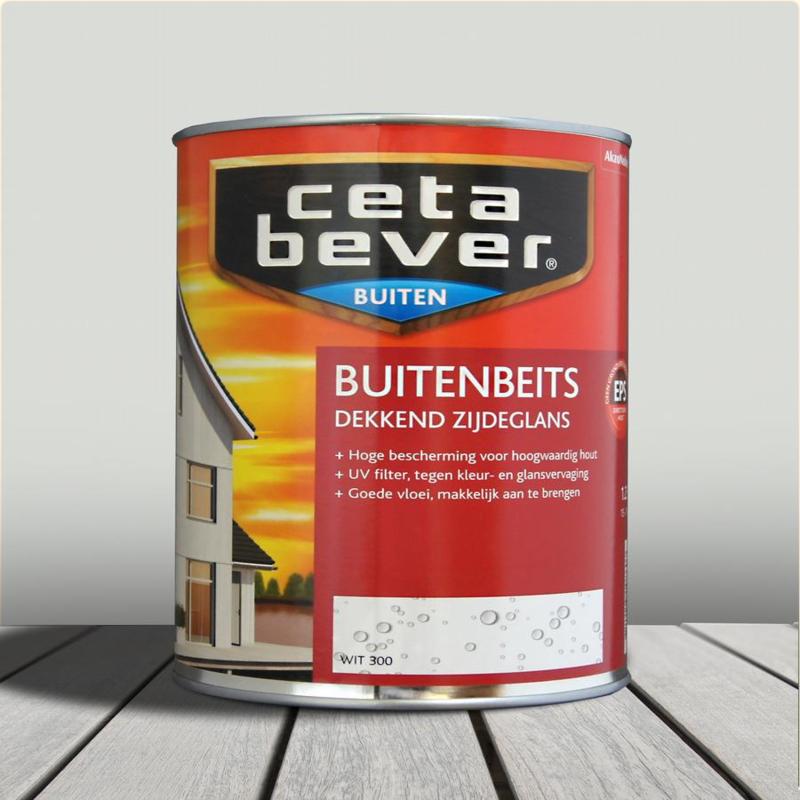CetaBever Buitenbeits Wit 300 750 ml