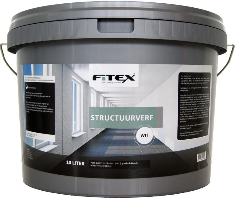 Fitex Structuurverf 5 liter