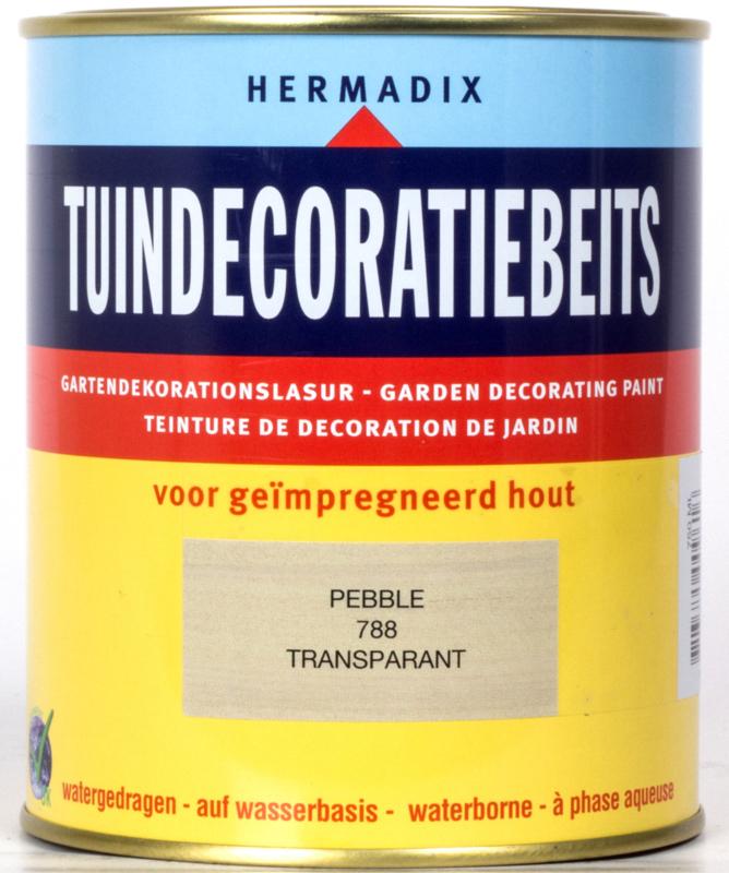 Hermadix Tuindecoratiebeits Transparant Pebble 788 750 ml