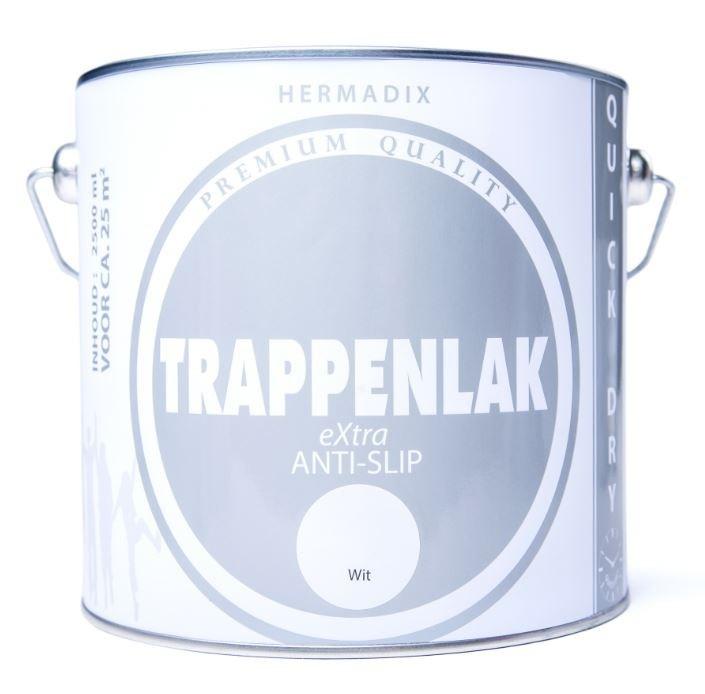 Hermadix Trappenlak Extra Zijdeglans Wit 2,5 liter