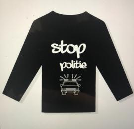 Shirt stop politie