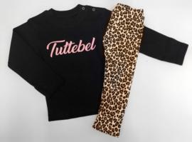2 delig setje tuttebel roze & leopard brown