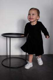 Beauty velvet dress black 86 t/m 128