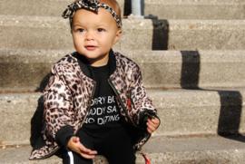 Bomber jacket Leopard