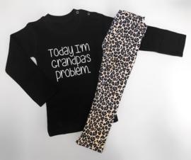 2 delig setje today grandma & leopard