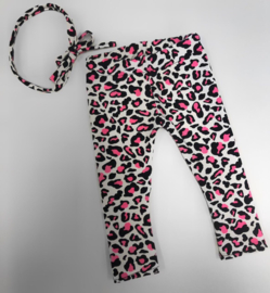 Legging Leopard neon pink