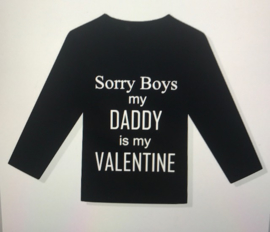 Shirt Sorry boys valentine