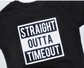 Shirt Straight outta timeout