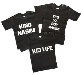 Shirt King met naam