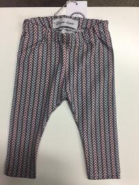 Legging roze streep 62-68