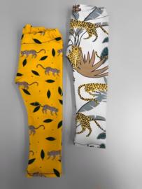 Legging tijgers okergeel