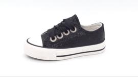 Sneakers glitter black