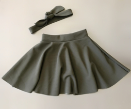 Dance with me skirt incl. headband khaki
