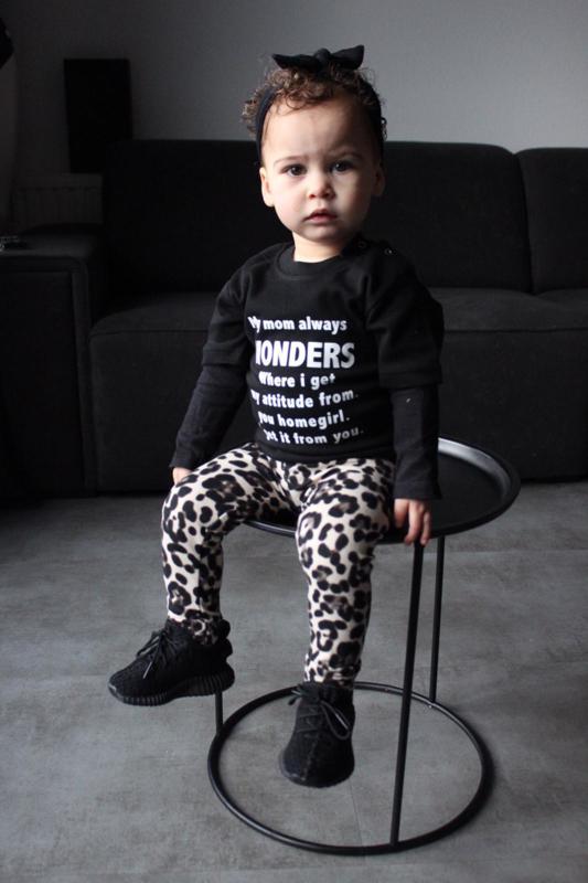Mommy wonders & leopard grey
