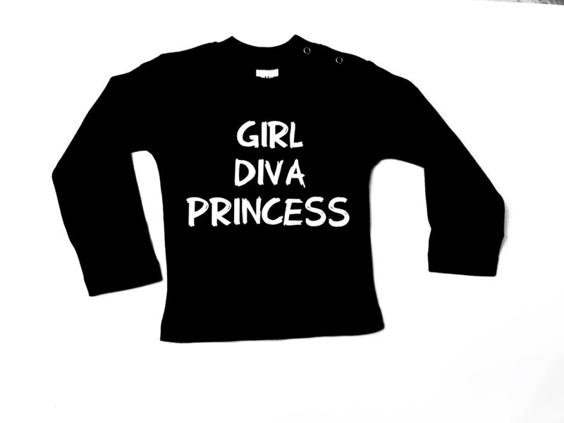 Shirt: Girl Diva Princess
