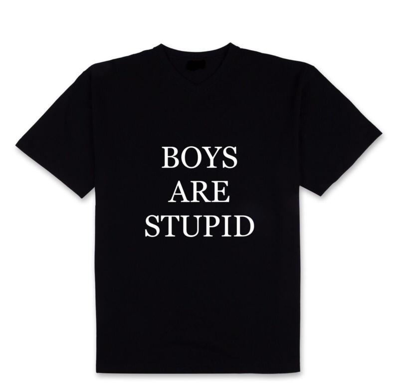 Shirt Boys are stupid
