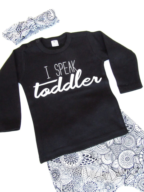 Shirt i speak Toddler