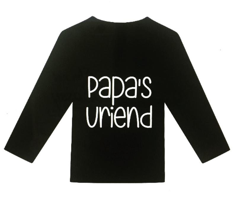 Shirt papa's vriend