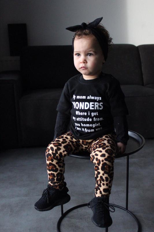 Mommy wonders & leopard brown