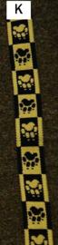 Halsband mit zugstop farbe K