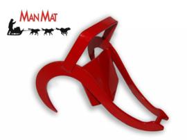 Sneeuwanker verzinkt/gecoat Rood