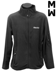 Fleece jack (heren) zwart