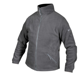 Fleece jack (heren) Grijs