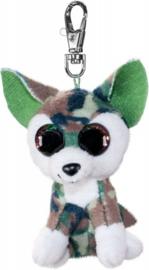 Lumo Stars knuffelwolf sleutelhanger 8,5 cm