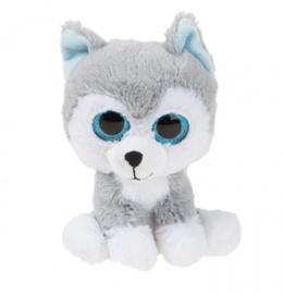Kamparo Husky knuffel 16 cm