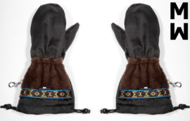 Wintergoves , worn with thin fleece gloves warm till -25