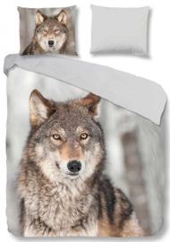 Deckbett Bezug Wolf