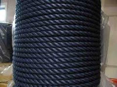 PE Seil 10 mm (16 fach eingeflochten) Schwarz