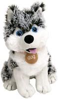 Husky knuffel zittend snowstar 25 cm