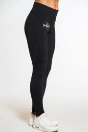 Black Flame Leggings
