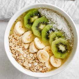 Smoothie met kiwi en banaan
