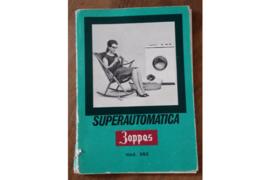 Gebruiksaanwijzing en garantiebewijs Zoppas