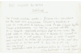Feldpost 38969 van Einheitsfuhrer