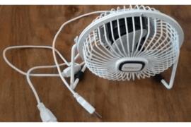 Ventilator om aan te sluiten om laptop