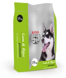 Kivo Lam & Rijst Premium geëxtrudeerd | 15kg