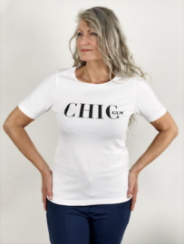 Billy top chic white