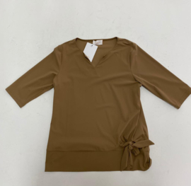 Daelin Top Amber taupe