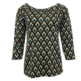 Glamm Top Mixy turquoise