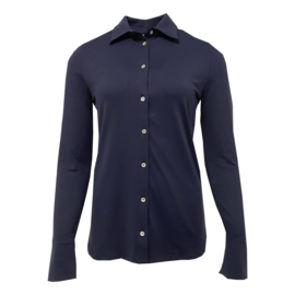 Glammlabel blouse Lotte navy