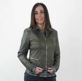 Laura olive green