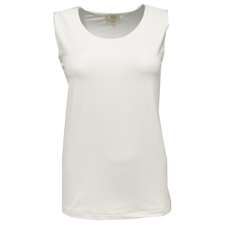 Top Bri GLAM - white