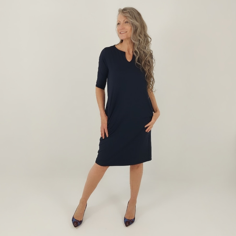 Travel quality - Carly 3/4 navy