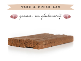 Kivo Take & Break Lam | 2 staven | Hond (AL)