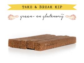 Kivo Take & Break Kip | 2 staven | Hond (BA)